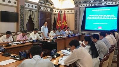 BẢN TIN MẶT TRẬN: Phó Chủ tịch Ngô Sách Thực làm việc tại TP Hồ Chí Minh
