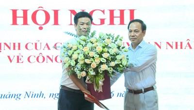 Quảng Ninh: Bổ nhiệm nhân sự ban quản lý các dự án trọng điểm