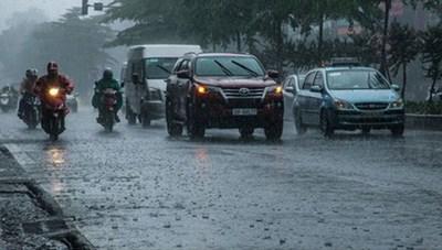 Thời tiết ngày 26/6: Mưa dông trên khắp cả nước, trời giảm nhiệt