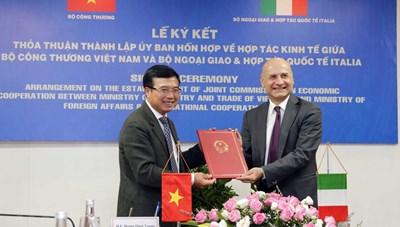 Tăng cường hợp tác thương mại Việt Nam - Italia