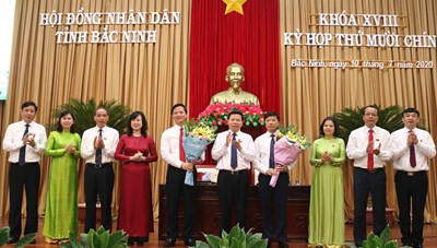 Bắc Ninh bầu bổ sung hai Phó Chủ tịch UBND tỉnh nhiệm kỳ 2016-2021