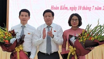 Ông Phạm Tuấn Long được bầu làm Chủ tịch UBND quận Hoàn Kiếm