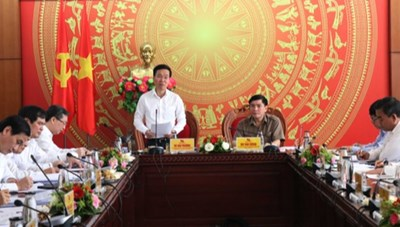 Trưởng ban Tuyên giáo Trung ương Võ Văn Thưởng làm việc tại Đắk Lắk