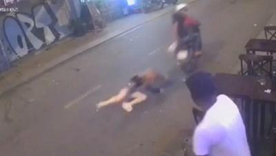 Công an bắt 2 tên cướp kéo lê cô gái ở phố Tây nhờ biển số xe