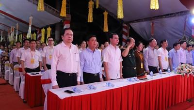 Chủ tịch Trần Thanh Mẫn dự Đại lễ cầu siêu tưởng niệm các anh hùng liệt sĩ