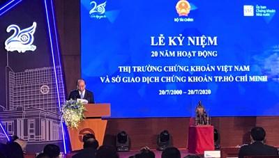 Thủ tướng: Chứng khoán Việt Nam phấn đấu nâng hạng thành thị trường mới nổi