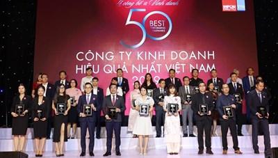 Vinamilk liên tục được đánh giá thuộc TOP công ty kinh doanh hiệu quả nhất Việt Nam