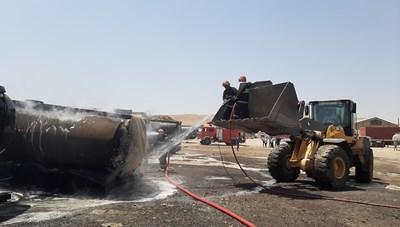 6 xe bồn Iran phát nổ sau hàng loạt vụ tấn công bí ẩn