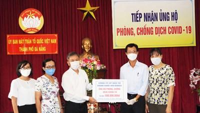 Sở TT&TT Đà Nẵng trao 500 triệu đồng ủng hộ phòng, chống dịch