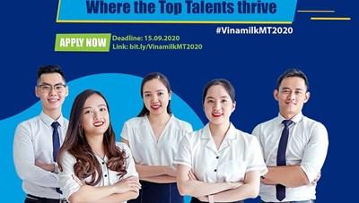 Vinamilk chính thức khởi động chương trình 'Quản trị viên tập sự 2020'