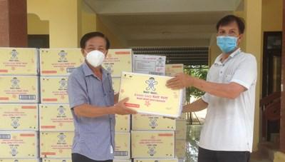 Mặt trận Quảng Nam chuyển hàng hỗ trợ phòng, chống dịch