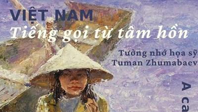 Trưng bày tranh 'Việt Nam - Tiếng gọi từ tâm hồn'