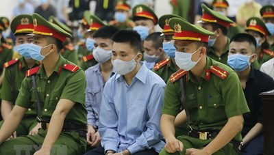 [ẢNH] Phiên tòa xét xử sơ thẩm vụ án tại xã Đồng Tâm