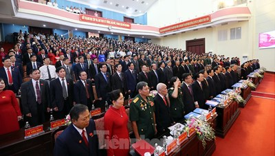Lãnh đạo Đảng, Nhà nước dự Đại hội Đảng bộ tỉnh Hà Nam