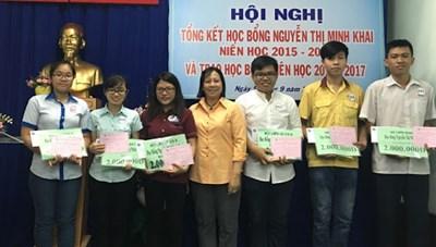Hiệu quả thiết thực từ Chương trình học bổng Nguyễn Thị Minh Khai