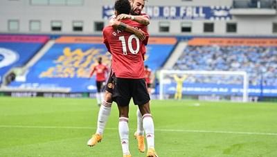Đánh bại Brighton theo cách không tưởng, MU có 3 điểm đầu tay ở Ngoại hạng Anh