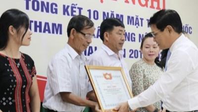Thừa Thiên-Huế: Khen thưởng 19 tập thể, 25 cá nhân tham gia xây dựng NTM