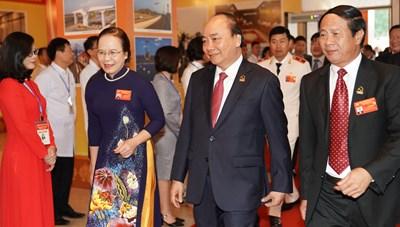 [ẢNH] Thủ tướng Nguyễn Xuân Phúc dự Đại hội Đảng bộ TP Hải Phòng