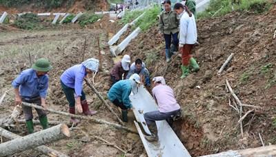 Tuyên Quang: Kiên cố hóa kênh mương nội đồng