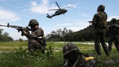 Hàn Quốc kết thúc tập trận chung với Mỹ