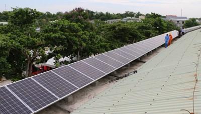 Quảng Nam: Công trình điện mặt trời trên mái nhà tăng nhanh