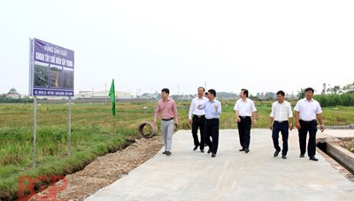 Tân Yên (Bắc Giang): 100% các xã về đích nông thôn mới