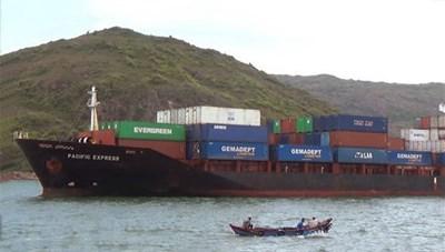 Xác định được tàu hàng đâm chìm tàu cá trên vùng biển Bình Định