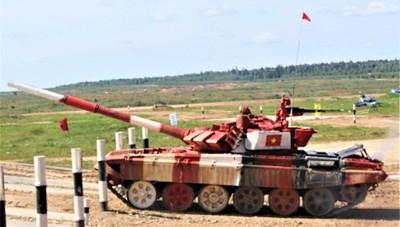 Việt Nam giành vị trí thứ hai môn đua xe tăng tại Army Games 2019