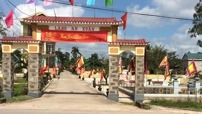 Huyện đầu tiên ở Quảng Trị được công nhận đạt chuẩn nông thôn mới