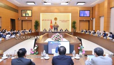 Dự kiến chương trình phiên họp thứ 41 của Ủy ban Thường vụ Quốc hội