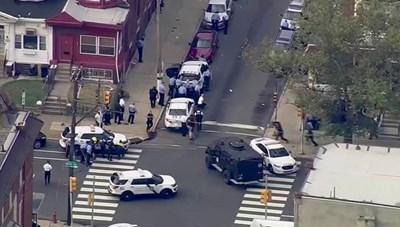 [VIDEO] Cảnh đấu súng nghẹt thở làm 6 cảnh sát Mỹ nhập viện
