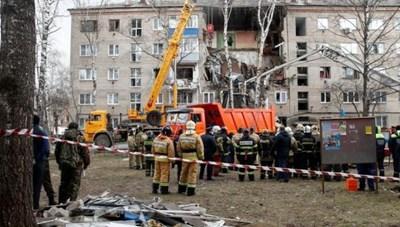 Nổ khí gas tại một tòa chung cư ở Nga, ít nhất 5 người thương vong