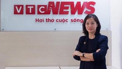 Báo điện tử VTC News có nữ Phó Tổng biên tập mới