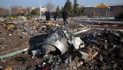 Máy bay Ukraine rơi: Iran đề nghị Mỹ, Pháp hỗ trợ giải mã hộp đen