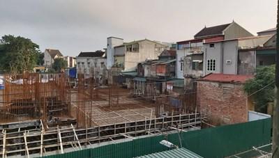 Tập đoàn Hoành Sơn xây dựng công trình cao 20 tầng: Nhiều nhà dân bị sụt lún