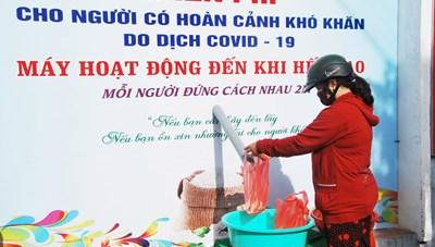 Mặt trận TP Sóc Trăng vận động thành lập 'ATM gạo' giúp người nghèo