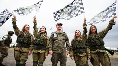 [ẢNH] Những 'bông hồng thép' tại Hội thao Quân sự quốc tế -  International Army Games 2019