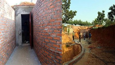 Vĩnh Phúc: Đào hầm lập sới bạc trên đồi