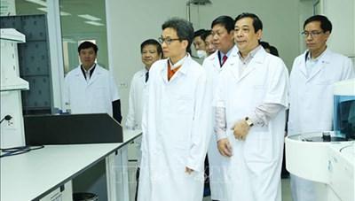 Phó Thủ tướng Vũ Đức Đam làm Trưởng ban Chỉ đạo Quốc gia phòng, chống dịch bệnh nCoV