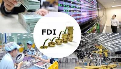 Cài bộ lọc cho dòng vốn FDI