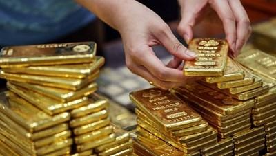 Tuần qua, giá vàng giảm 3,2%