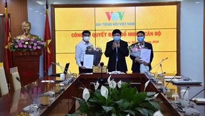 Báo điện tử VOV có Tổng Biên tập mới
