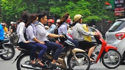 Chấn chỉnh việc học sinh vi phạm quy định an toàn giao thông