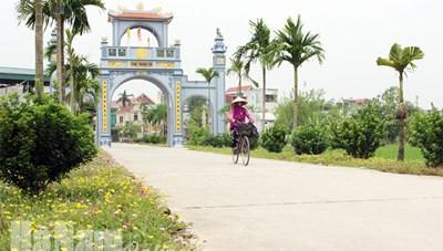 Hà Nam: Huyện Bình Lục đạt chuẩn nông thôn mới