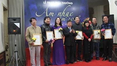 Trao giải thưởng âm nhạc Hội Nhạc sĩ Việt Nam