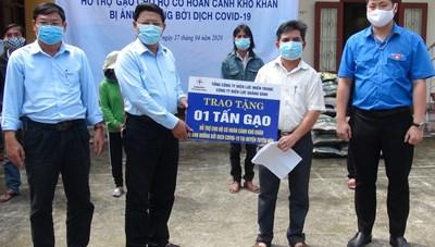 Quảng Bình: Trao tặng 2 tấn gạo cho người nghèo ở miền núi