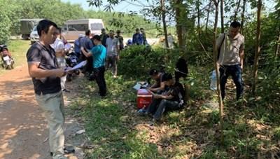 Quảng Bình: 'Ém' hơn 2,5 tạ thuốc nổ nơi đồi núi chờ đưa ra Bắc