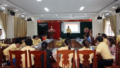 MTTQ Nghệ An: Thi ý tưởng slogan và kỹ năng thuyết trình cho cán bộ Mặt trận
