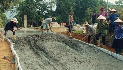 Xây dựng nông thôn mới ở vùng khó