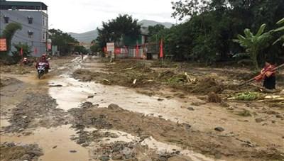 Dồn sức khắc phục hậu quả mưa lũ